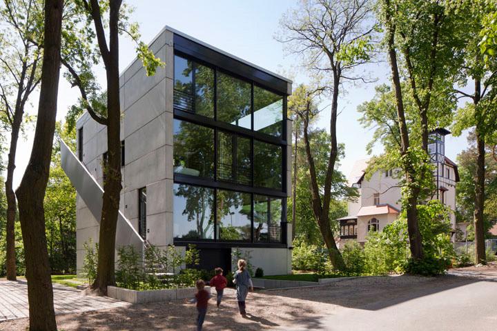 gallery of house o peter ruge architekten 4. Black Bedroom Furniture Sets. Home Design Ideas