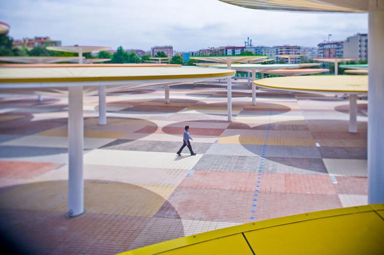 En Detalle: Cortes Constructivos / Infraestructura Pública, Centro abierto de actividades ciudadanas / Paredes Pino © Jorge López Conde