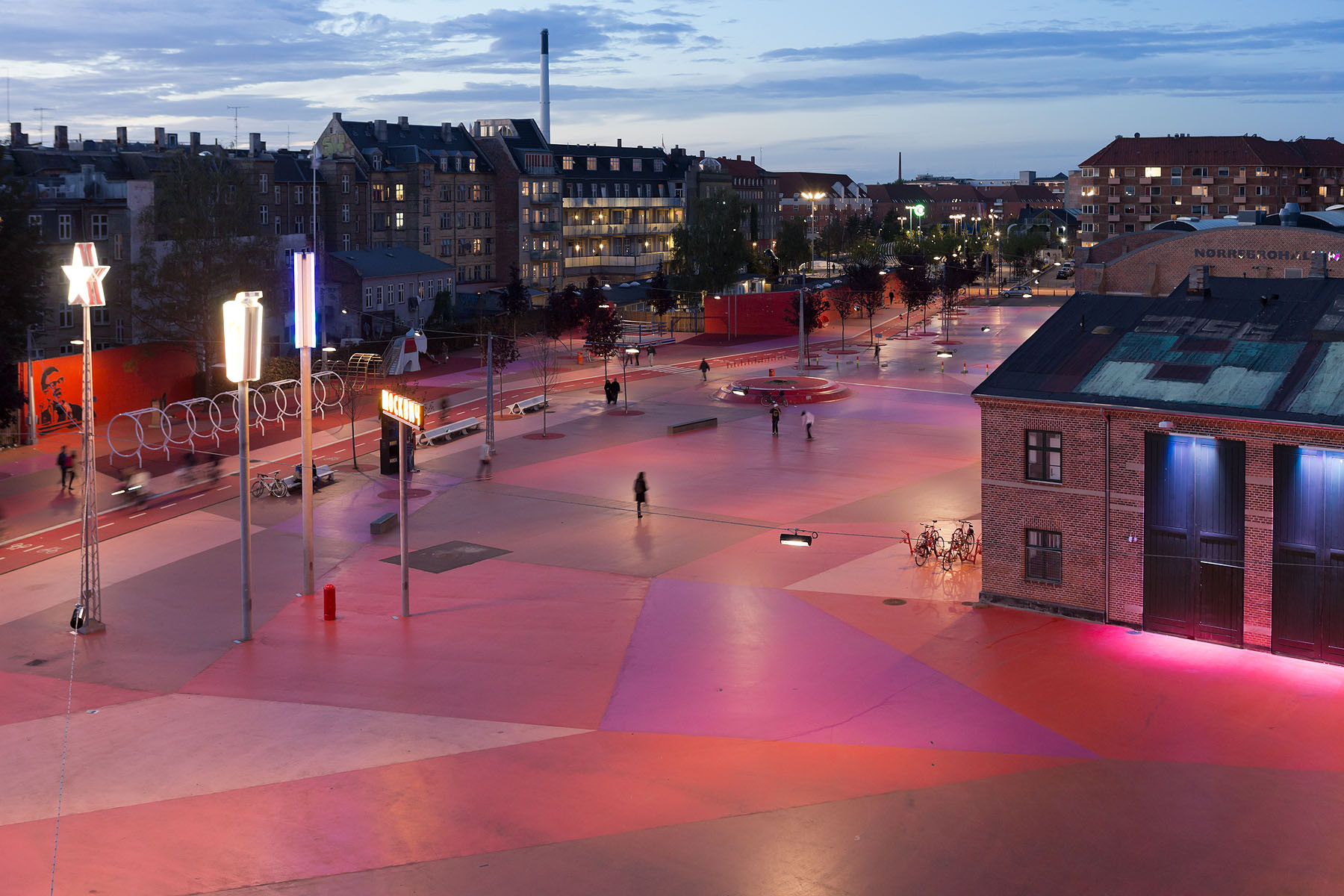 Superkilen / Topotek 1 + BIG Architects + Superflex, © Iwan Baan