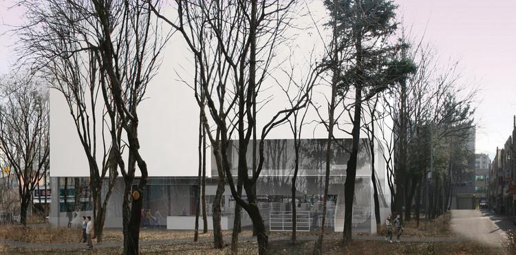 Biblioteca Pública de Daegu Gosan / Gorka Blas, Cortesía de Gorka Blas