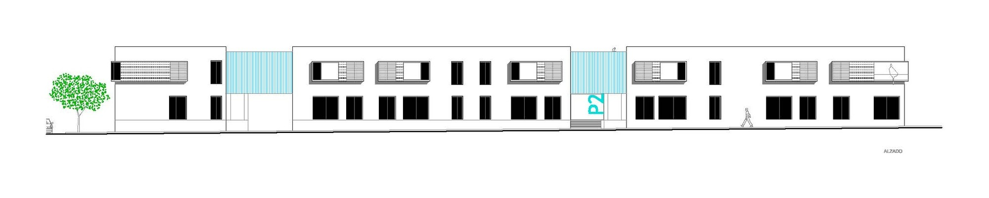 27 VPO / Equipo Olivares Arquitectos