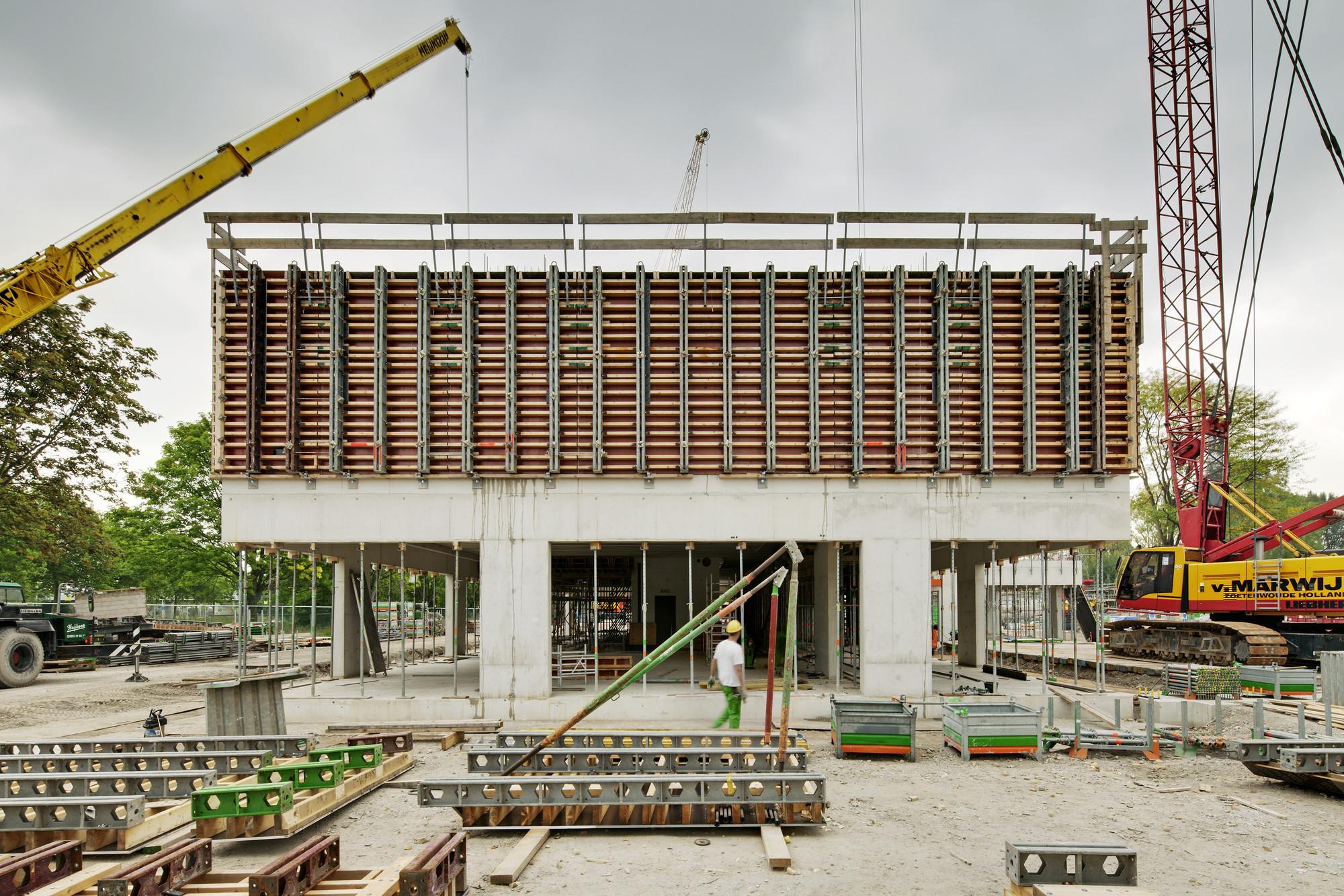 Campus Hoogvliet en Rotterdam / Wiel Arets Architects, © Jan Bitter