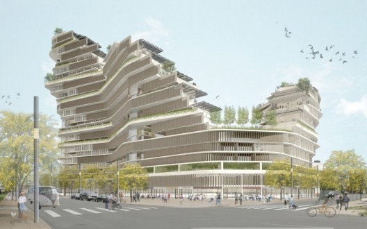 Co-Op Canyon. Courtesy of Standard Architecture.