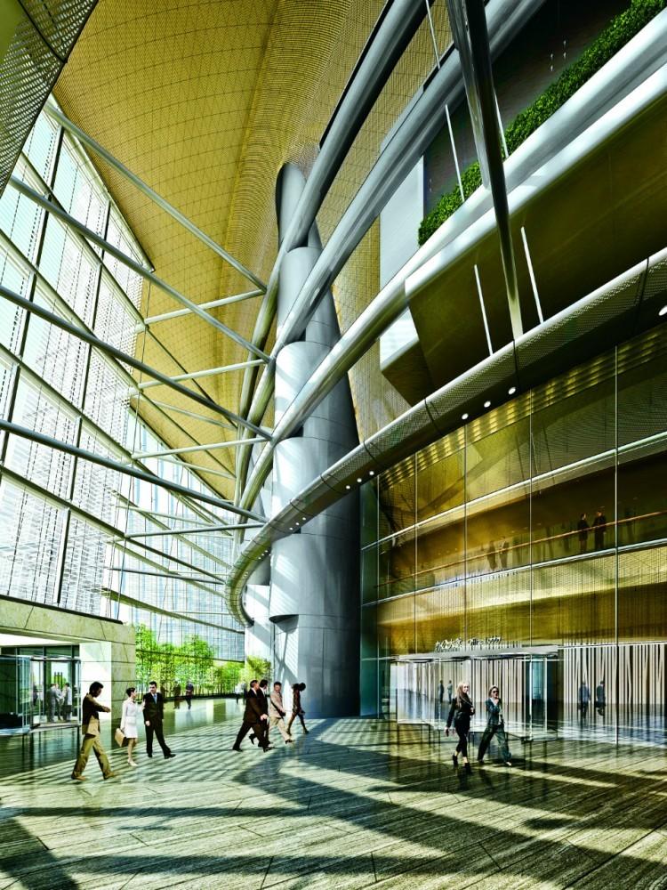 Shanghai Tower. Courtesy of Gensler.