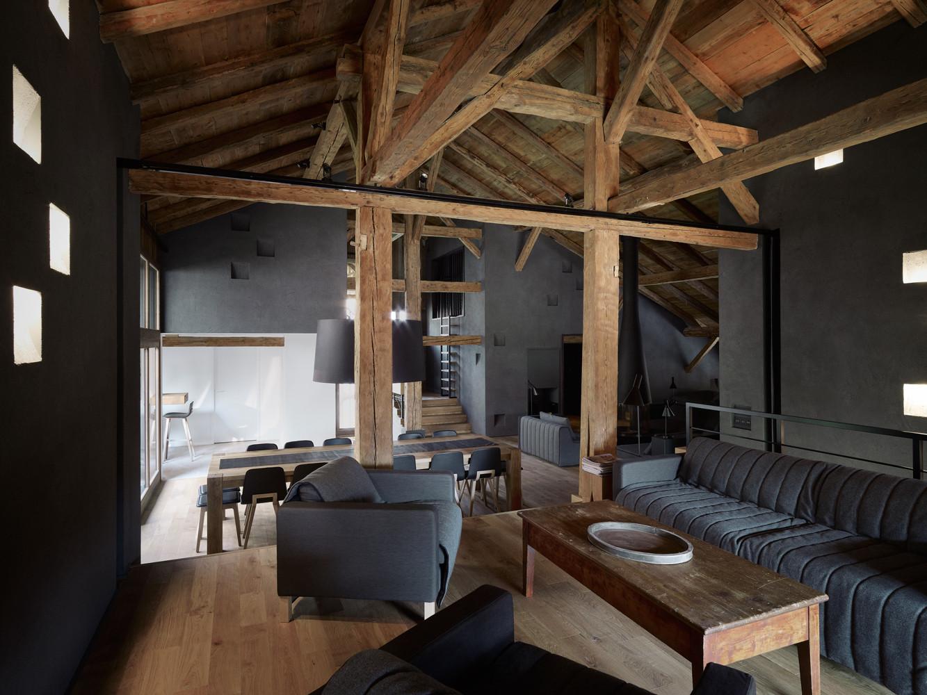 Внутренний дизайн частного дома фото