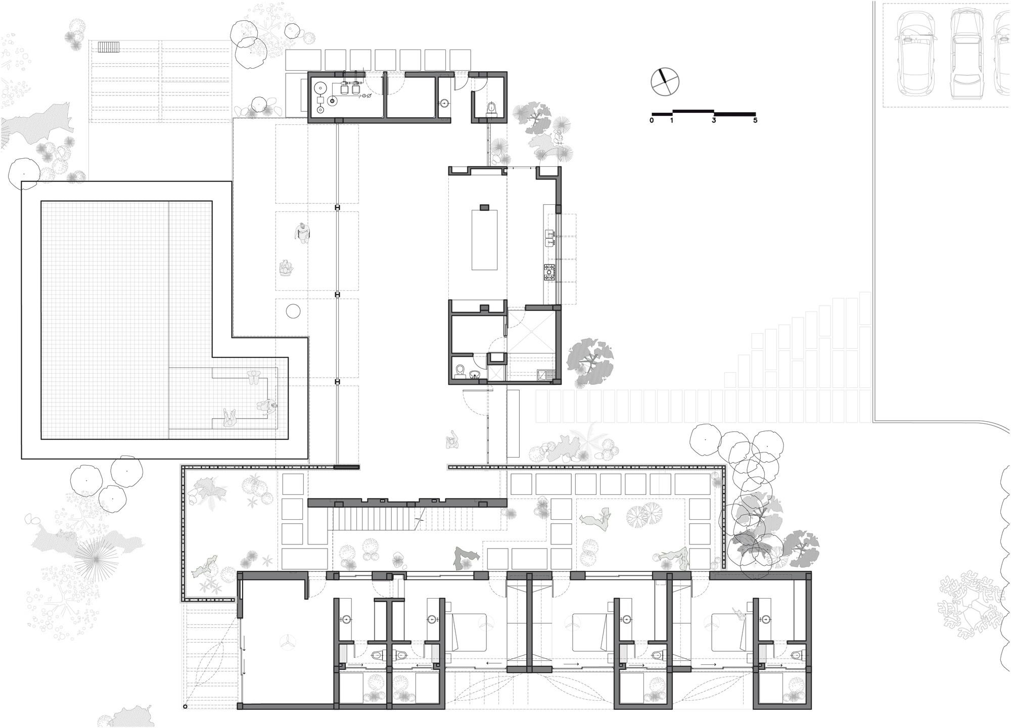 Gallery of house 60 de la carrera cavanzo arquitectura for Carrera de arquitectura