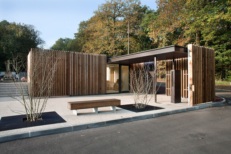 Cementerio Velizy  / Philippe Harden + Olivier Rozé Architects, © Philippe Harden