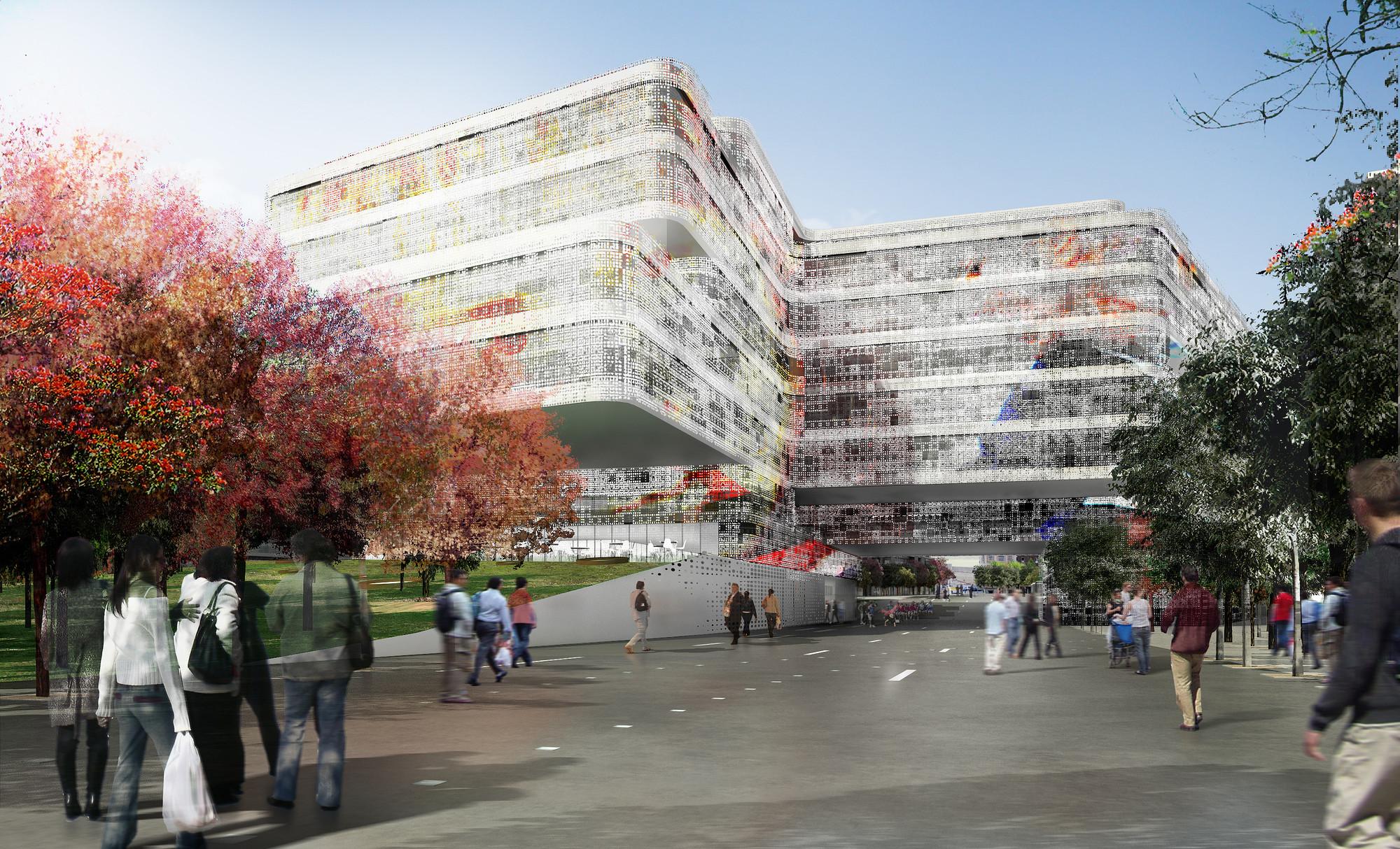 Propuesta Nuevo Centro de Badalona / aldayjover