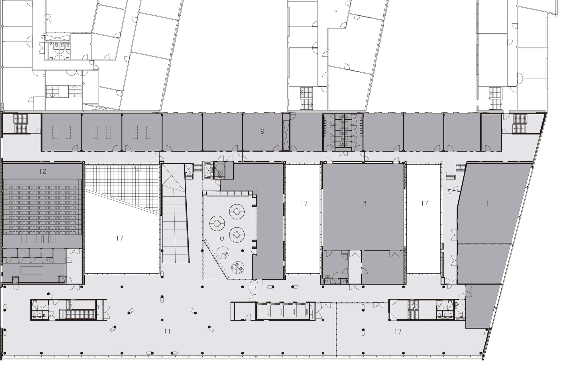Department of Education Hogeschool Utrecht / Ector Hoogstad Architecten
