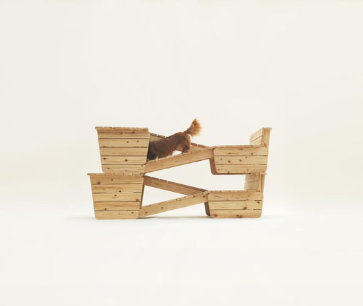 Architecture for Dachshunds, by Atelier Bow-Wow. Photos by Hiroshi Yoda, courtesy of Architecture for Dogs.