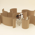 Architecture for Papillons, by Shigeru Ban. Photos by Hiroshi Yoda, courtesy of Architecture for Dogs.