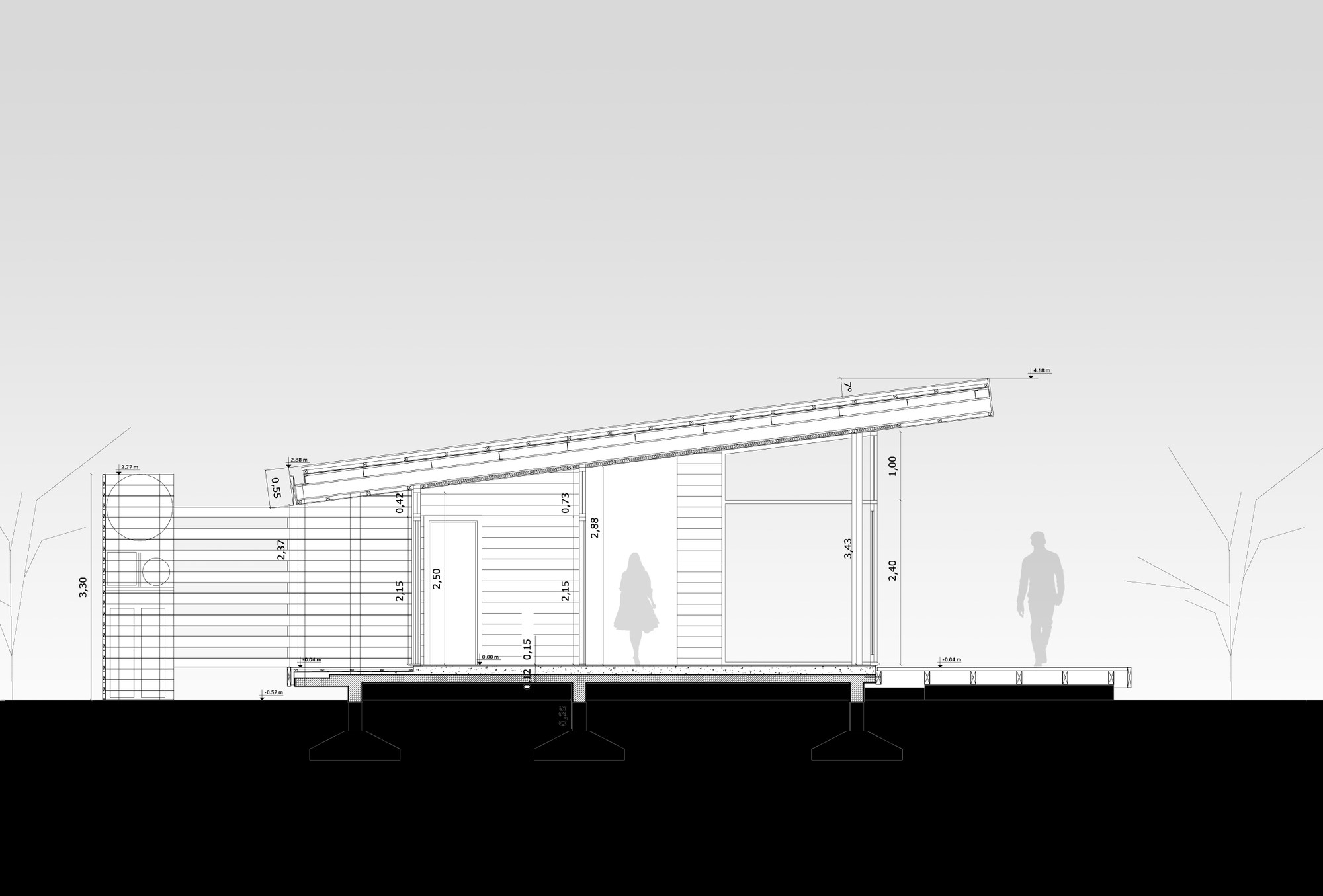 Gallery of cabur house n made architects 14 for Architecture nomade