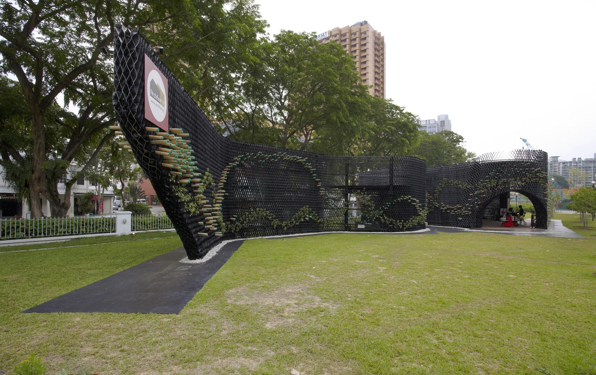 Archifest Zero Waste Pavilion / WOW Architects, © Aaron Pocock
