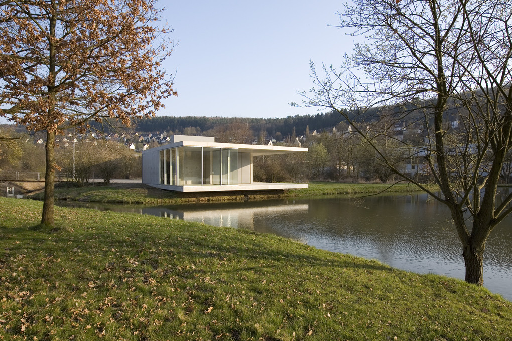 Pavilion Siegen / Ian Shaw Architekten, © Felix Krumbhlotz