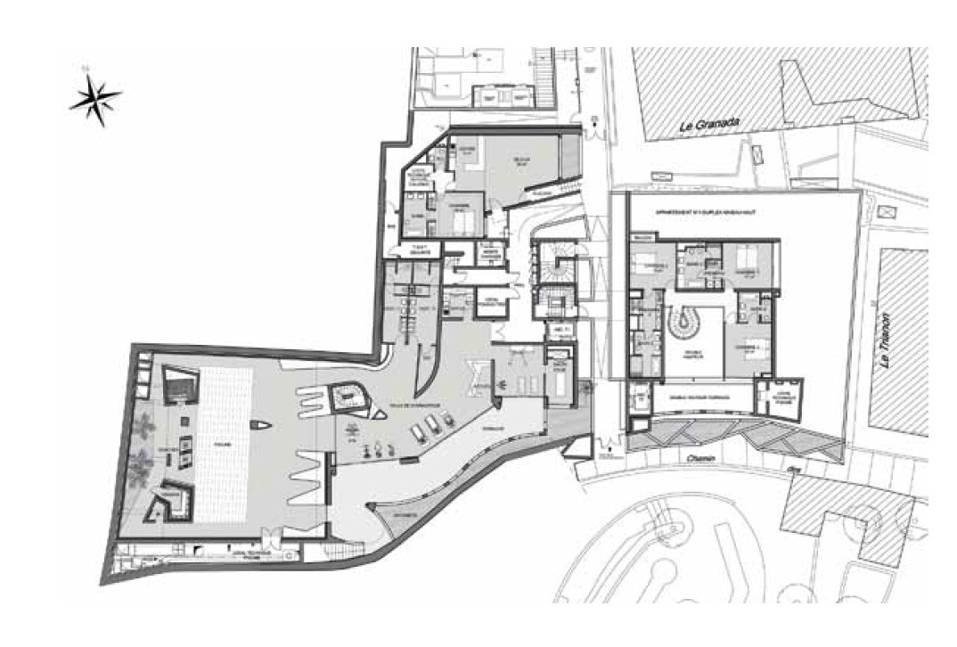 Gallery of the simona jean pierre lott architecte 8 for Plan architecte