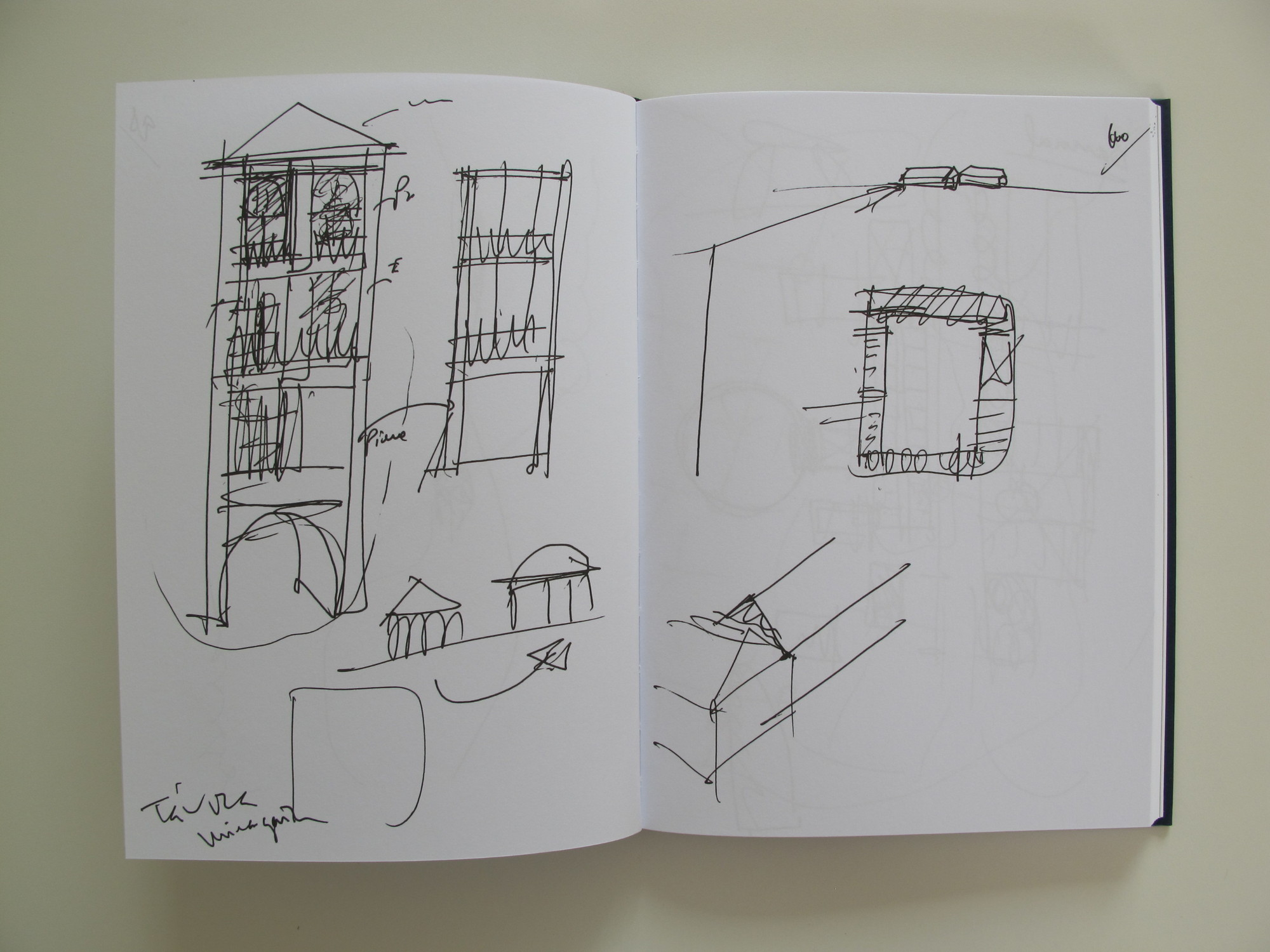 Eduardo Souto de Moura Sketchbook No.76