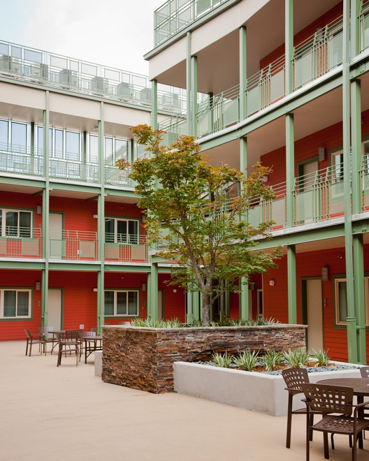 The Rosa F. Keller Building, a 2013 SEED Award Winner, is a housing complex in New Orleans which integrates formerly homeless and low-income residents in a safe environment. Photo courtesy of the Rosa F. Keller Building.