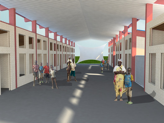 Sudan Jalle School, a 2013 SEED Award Winner, designed to aid in disaster recovery in war-torn Southern Sudan. Photo courtesy of Rebuild Sudan.