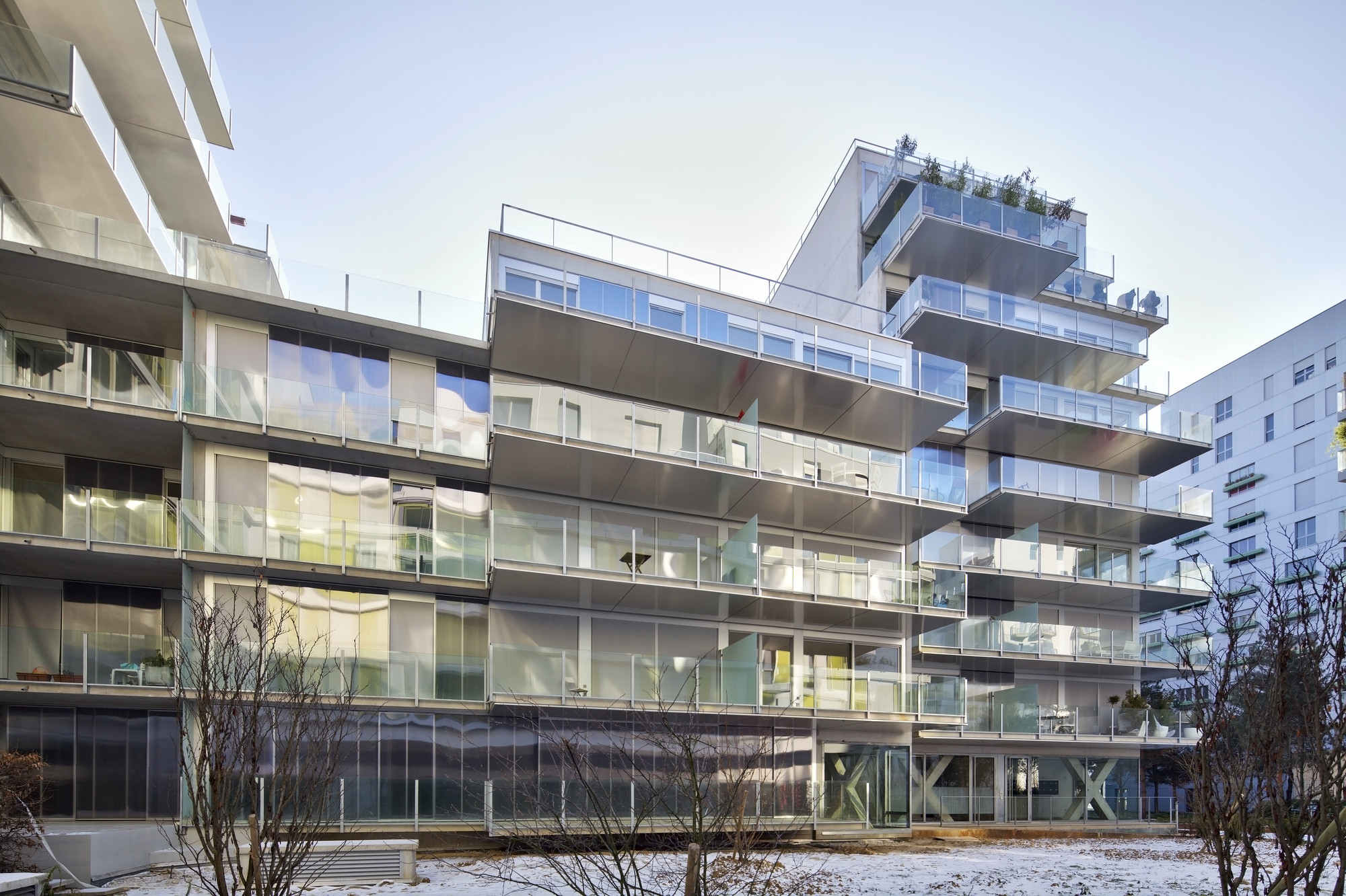 73 apartments ZAC Seguin Rives de Seine - Lot B3B / Philippe Dubus Architectes