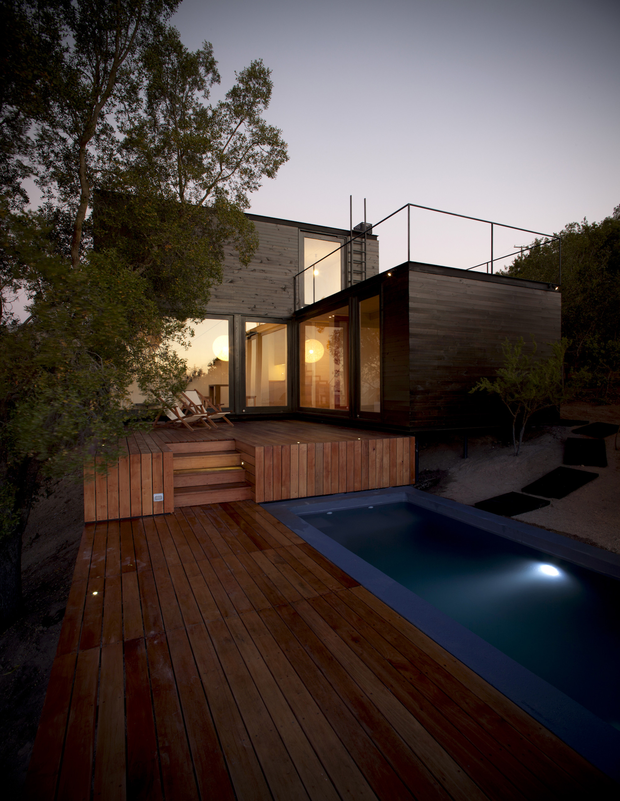 Gallery of pangal cabin ema arquitectos 1 - Site decoration maison pas cher ...