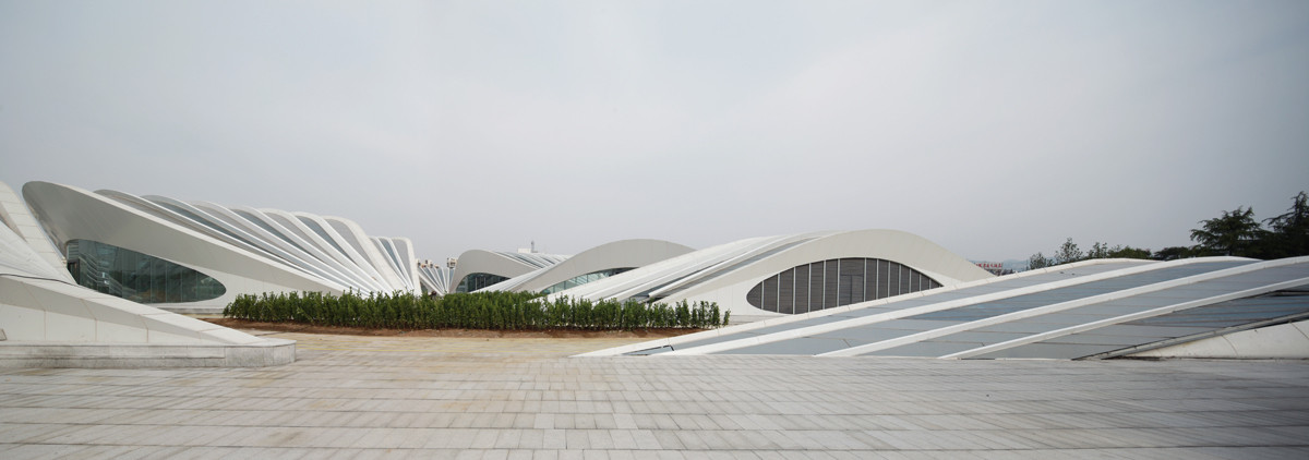 Visitor Center / HHD_FUN Architects, © Zhenfei Wang, Chenggui Wang