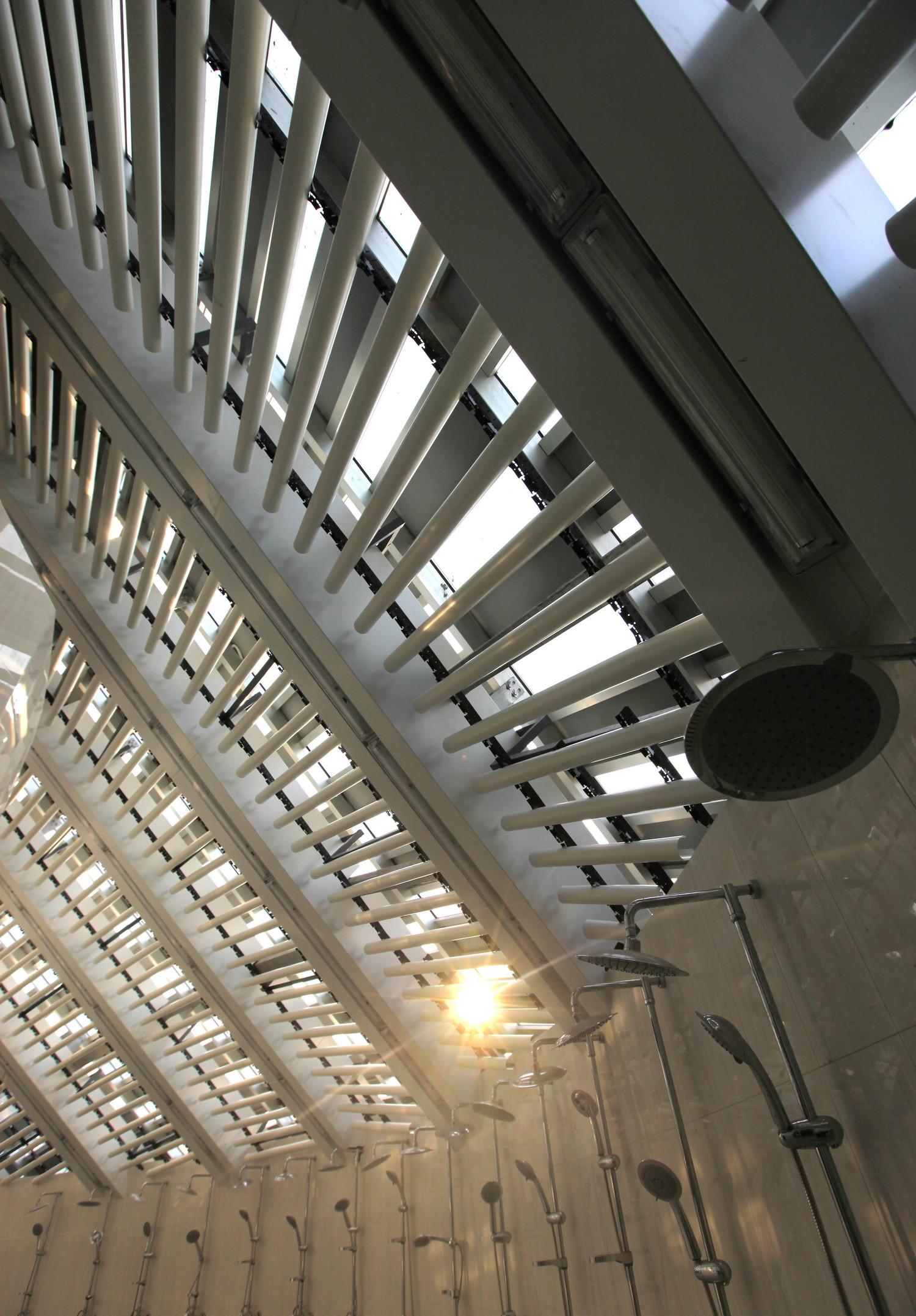 Galeria de Banheiro Público / HHD FUN Architects 17 #7F6D4C 1500 2154