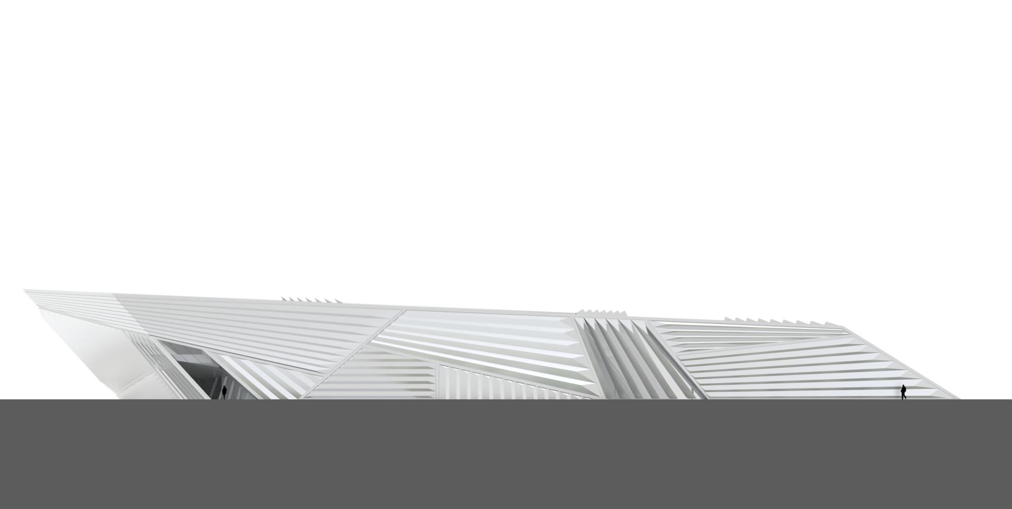 Eli & Edythe Broad Art Museum / Zaha Hadid Architects