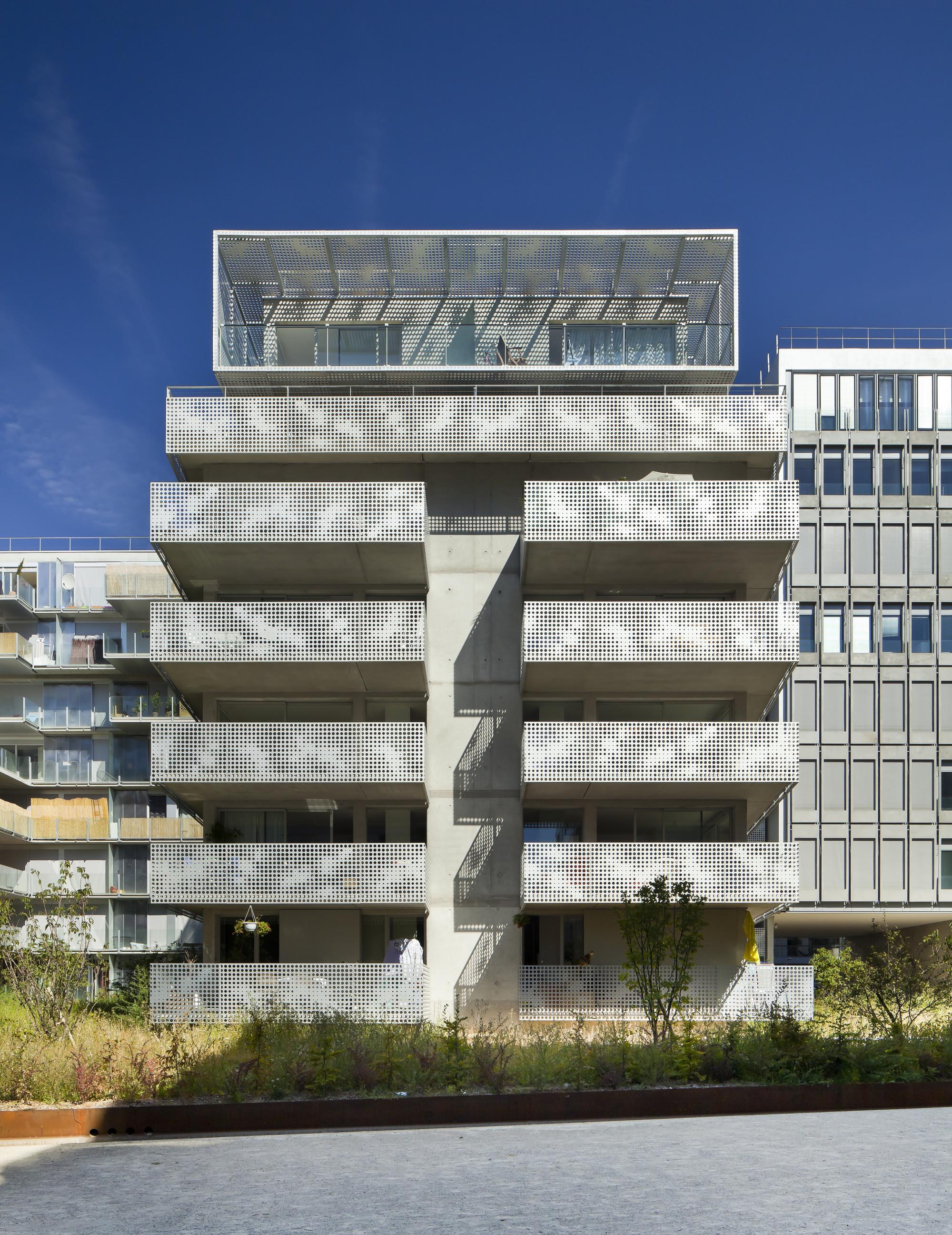gallery of 54 logements zac seguin rives de seine phd architectes 17. Black Bedroom Furniture Sets. Home Design Ideas