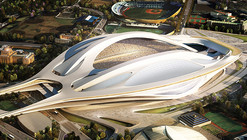 Zaha Hadid Wins Japan National Stadium Competition