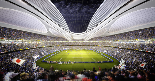 Zaha Hadid Architects Entry No.17 – Courtesy of Japan Sport Council