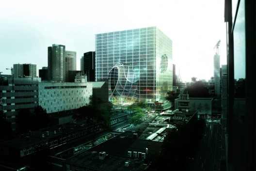 Coolsingel mixed use building, ©OMA