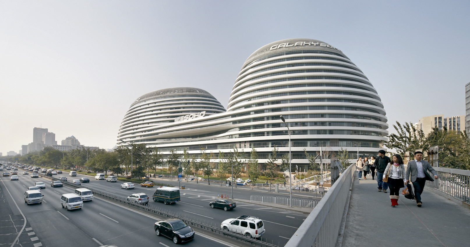 Galaxy Soho / Zaha Hadid Architects by Hufton + Crow