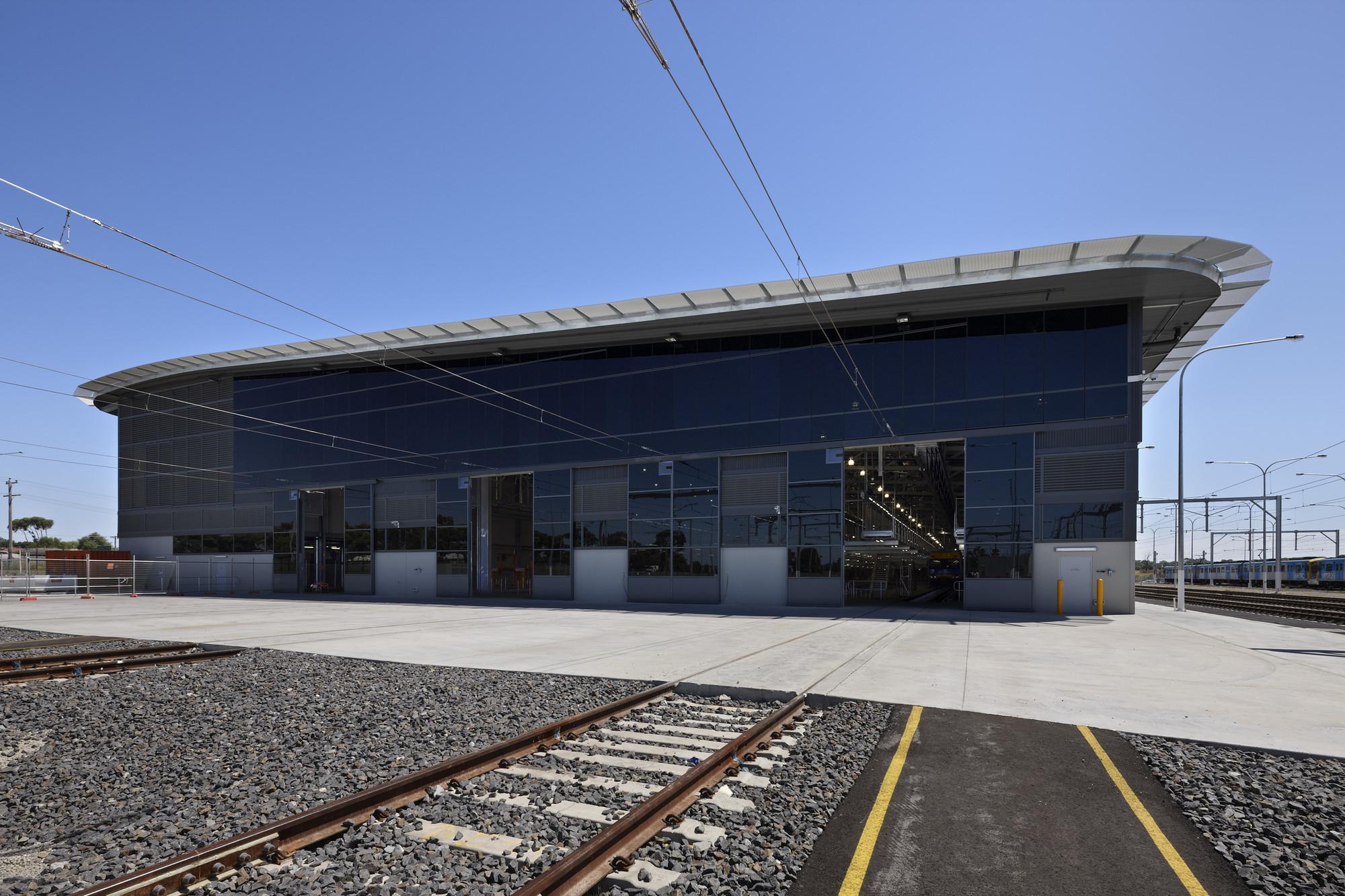 Craigieburn Train Maintenance Facility / HBO+EMTB
