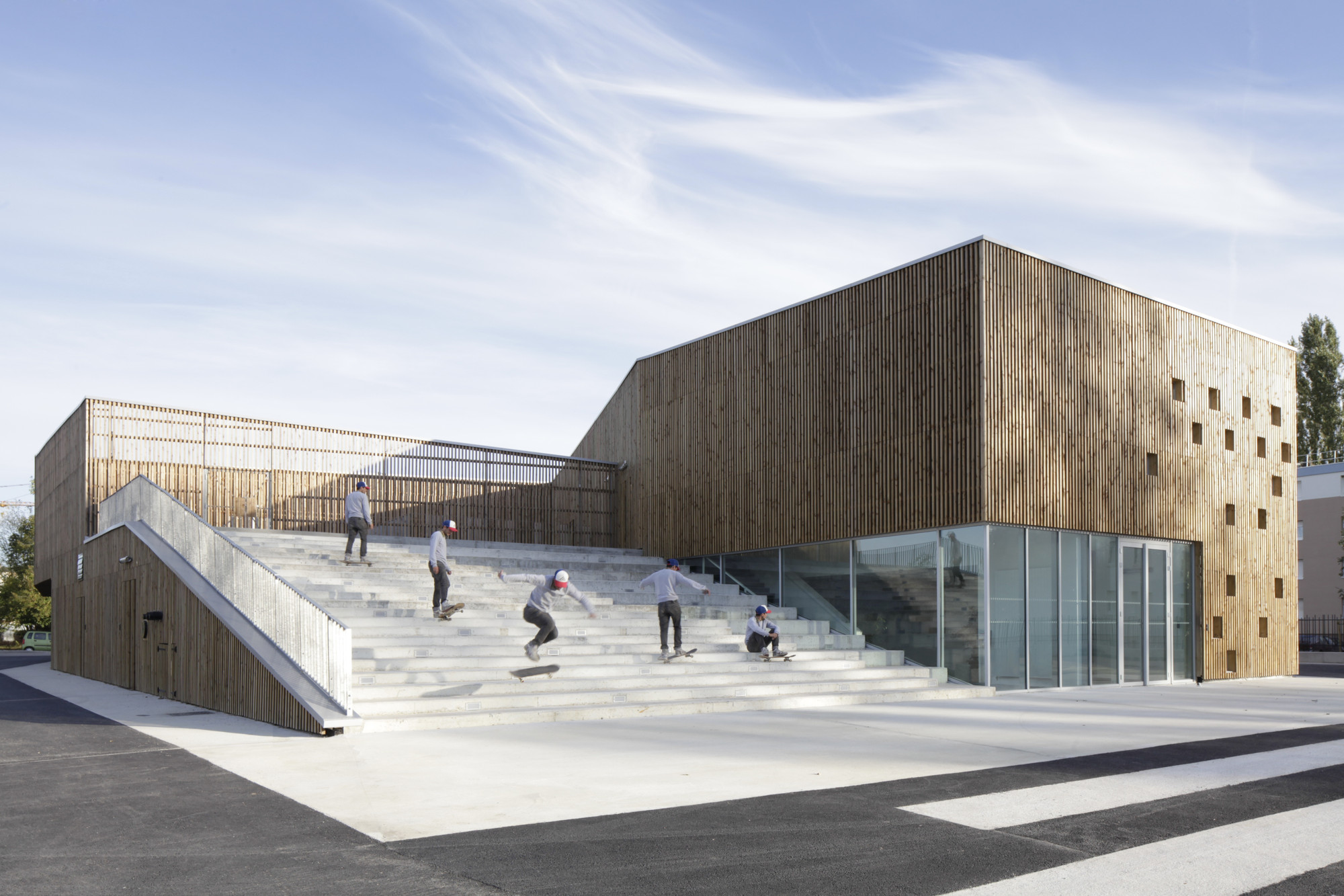 Cultural Center in Nevers / Ateliers O-S architectes, © Cecile Septet