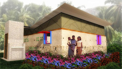 """Primer Lugar  Concurso Internacional """"Construir la Prevención de la Malaria"""" / Gustavo Bautista Moros + Erika Gómez Ramírez + Alejandro Ordóñez Ortiz"""