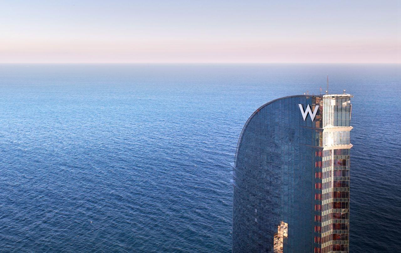 Gallery of w barcelona hotel ricardo bofill 3 for Spa hotel w barcelona