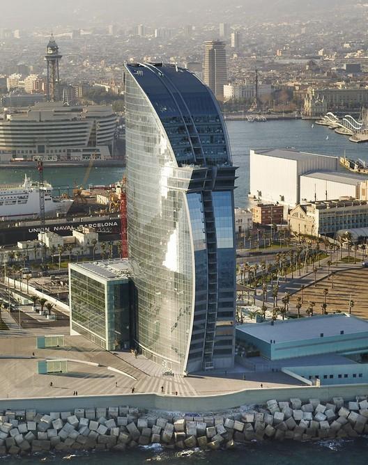 Hotel W Barcelona / Ricardo Bofill, Courtesy of Ricardo Bofill