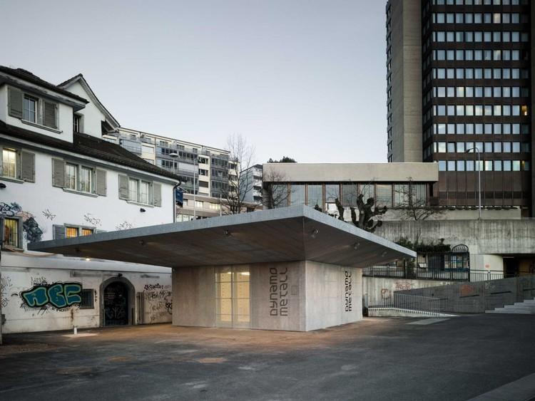 Dynamo Metal Workshop / phalt Architekten, © Dominique Wehrli