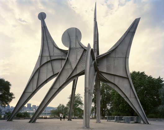 "Montreal 1967 World's Fair, ""Man and His World,"" (Alexander Calder) L' Homme, 2012. Photo © Jade Doskow."