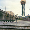 "Knoxville  1982 World's Fair, ""Energy Turns the World,"" Sunsphere, 2009. Photo © Jade Doskow."