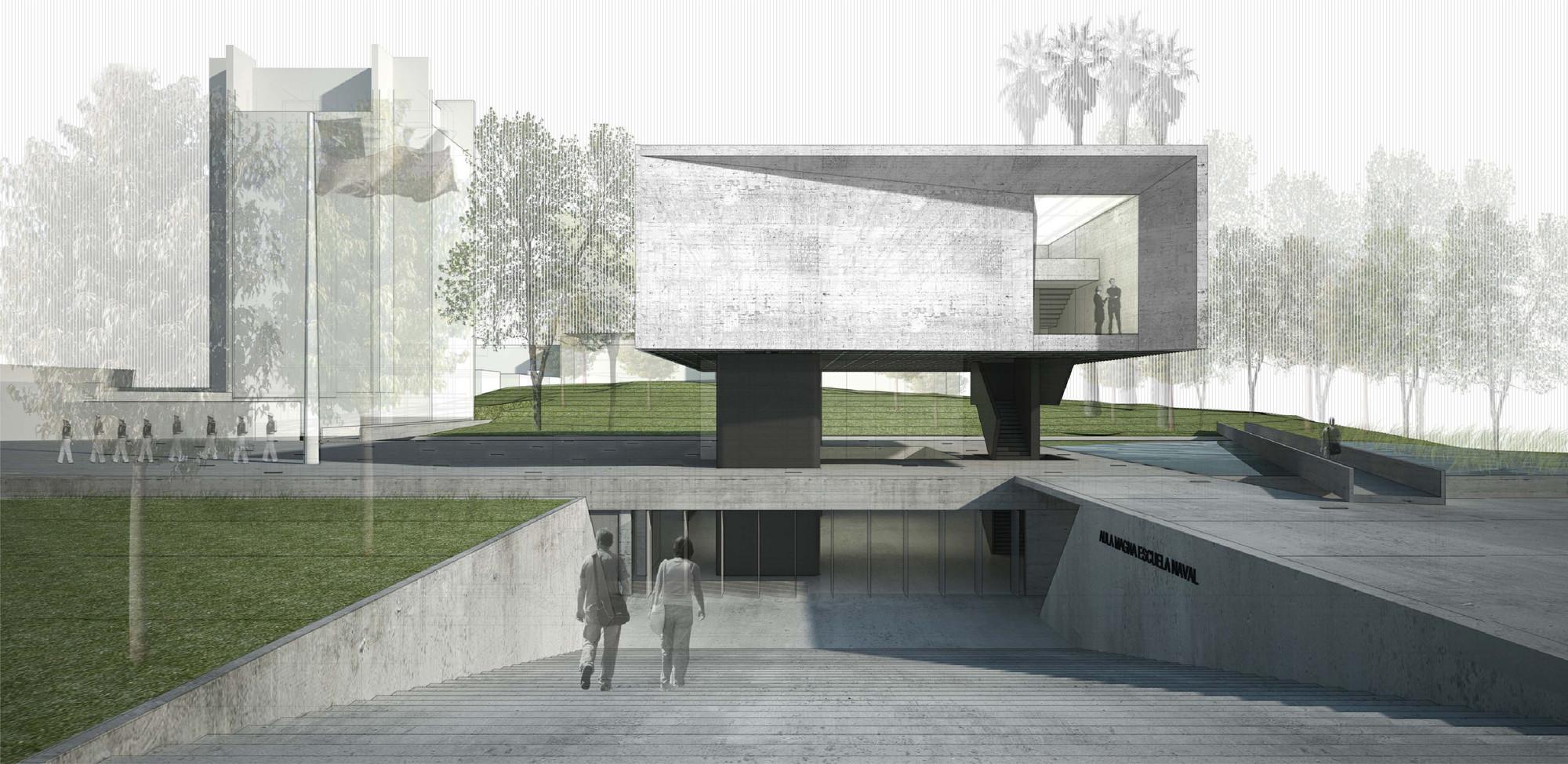 Cortesia de elton + léniz arquitectos asociados