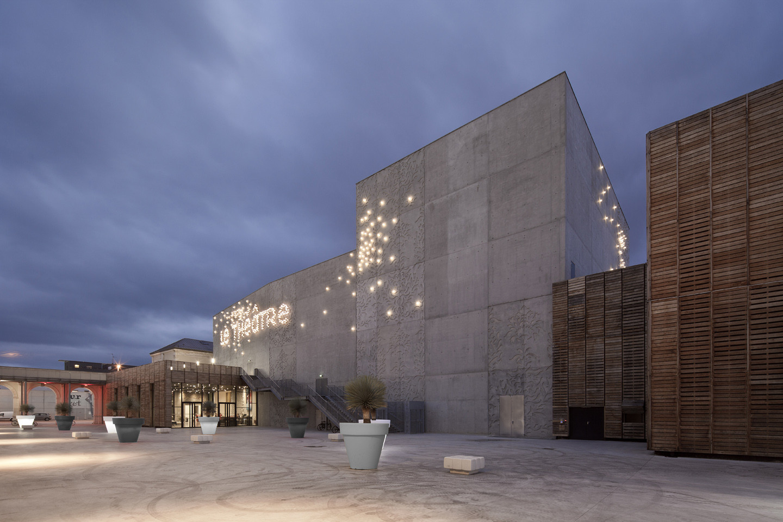 Saint-Nazaire Theatre / K-architectures, © Luc Boegly