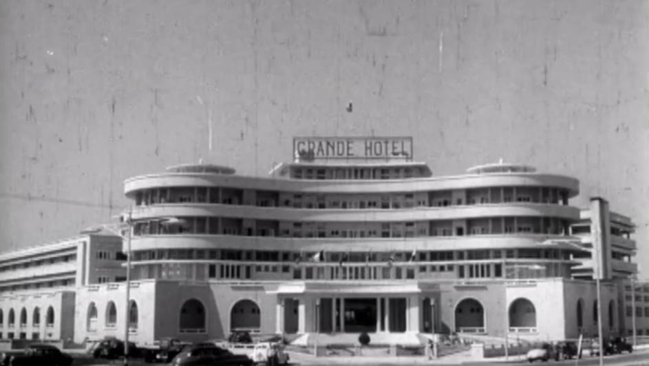 """Cine y Arquitectura: """"Grande Hotel"""", Cine y Arquitectura: """"Grande Hotel"""""""