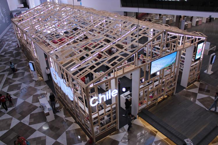 Pabellón de Chile, invitado de honor para FIL Guadalajara 2012 / Daw, Cortesía de DAW