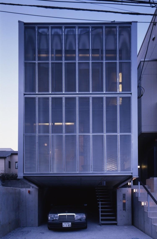 Casa de Acero en Tokio / MDS, © Hiroshi Ueda