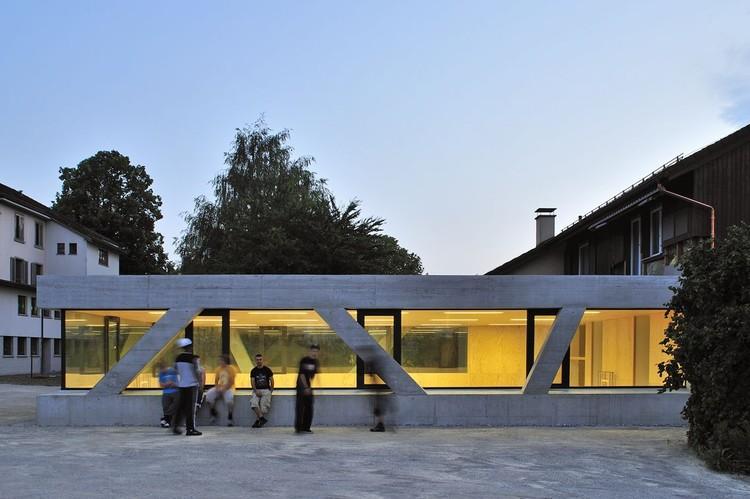 Sporthalle Landheim Bruettisellen / L3P Architects, © Sabrina Scheja