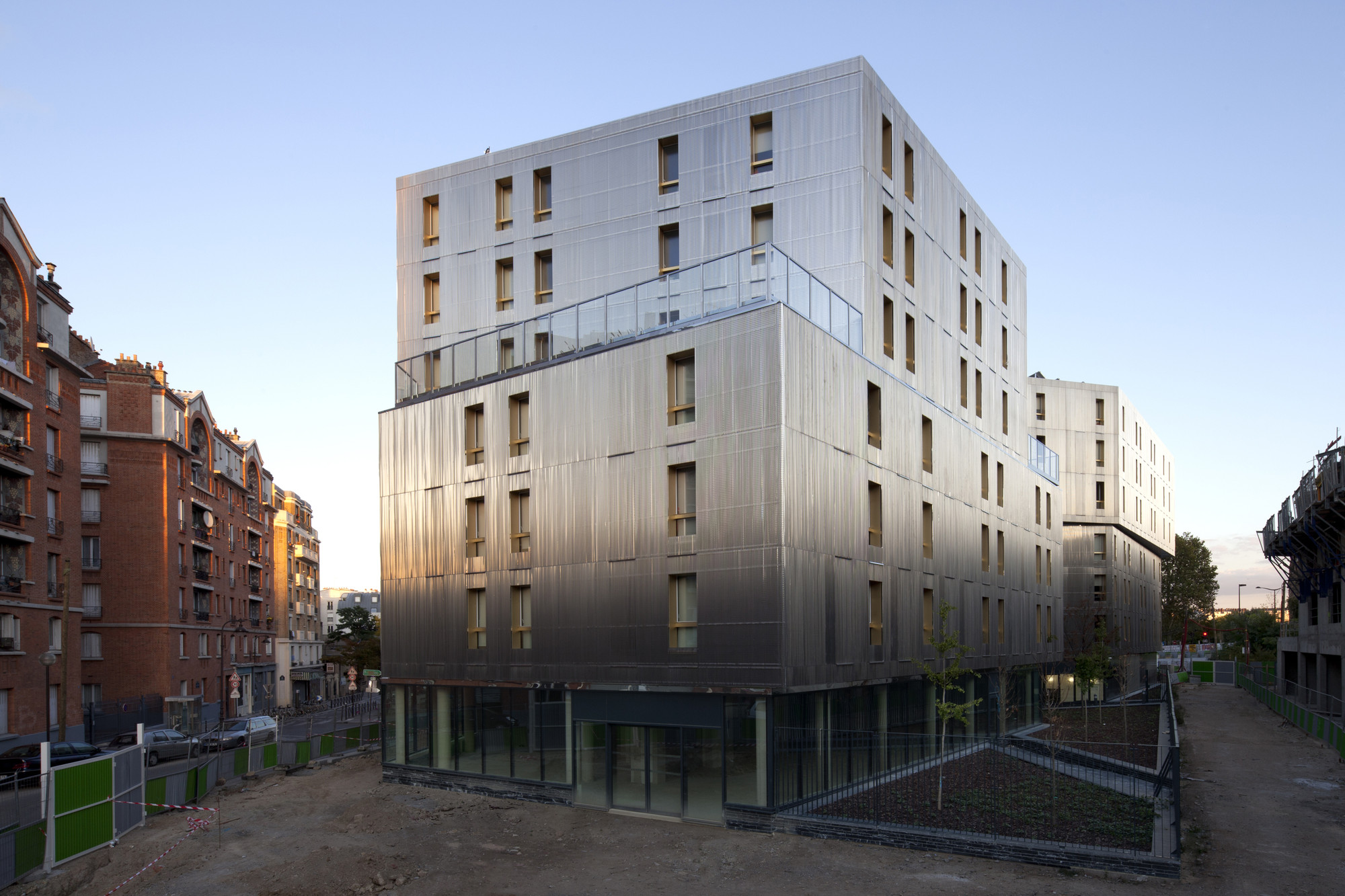 Irene Joliot Curie Residences / DATA [Architectes], Courtesy of DATA [Architectes]