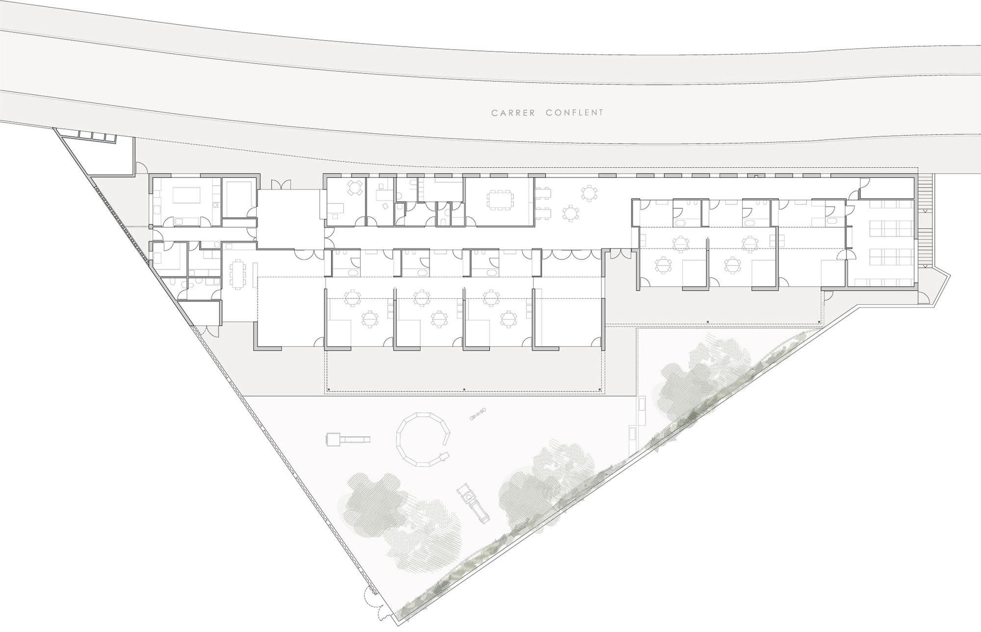 La Baldufa Kindergarten  / ONL Arquitectura