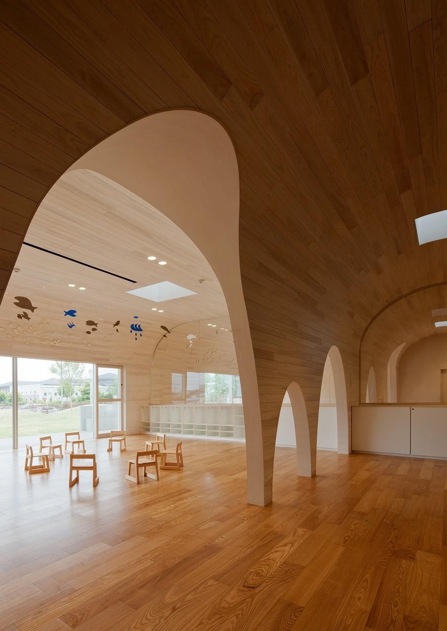 gallery of leimond shonaka nursery school archivision hirotani studio 7. Black Bedroom Furniture Sets. Home Design Ideas