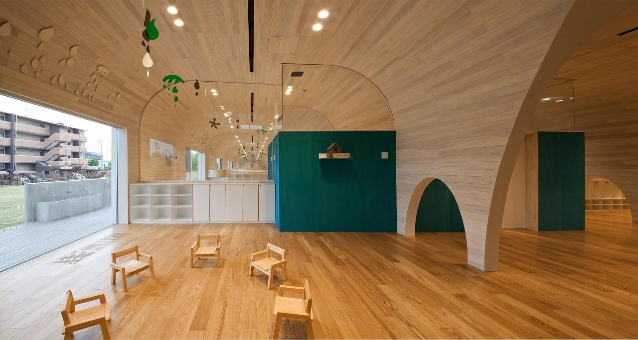 Leimond-Shonaka Nursery School / Archivision Hirotani Studio, © Kurumata Tamotsu